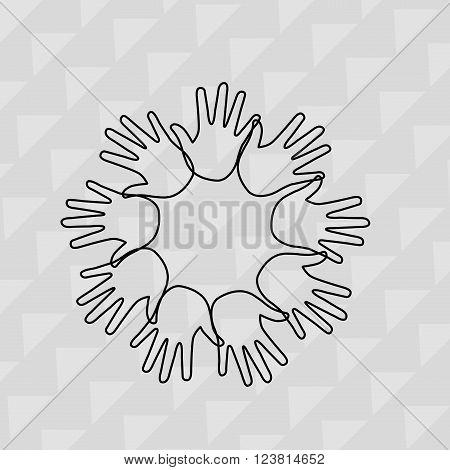 diversity concept design, vector illustration eps10 graphic