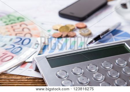 business still life in office, work concept
