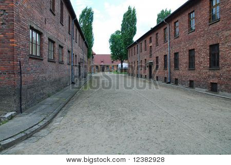 Auschwitz Birkenau concentration camp in Oswiecim. Poland