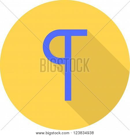 Text, show, hide icon vector image. Can also be used for text editing. Suitable for use on web apps, mobile apps and print media.