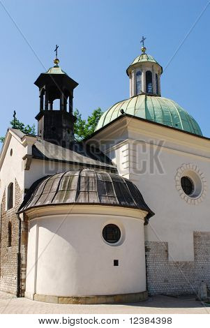 photo of st. James Church on Main Square in Cracow, Poland