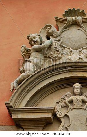 Portal of the Church of St. Michael in Sandomierz, Poland