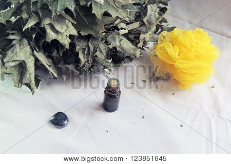 Steam Treatments, Broom, Sponge