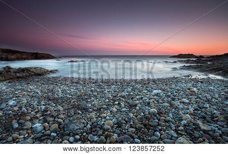 Limeslade Bay on the Gower peninsula near Mumbles Head and Bracelet Bay, Swansea.