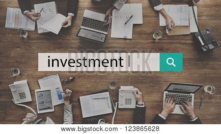 Investment Fund Money Venture Share Concept