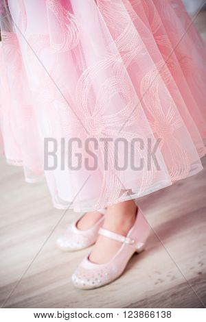 beautifu dress for little girl. the princess dress