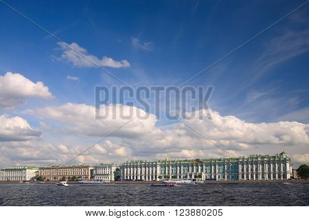 St. Petersburg, Winter Palace, today the Hermitage Museum