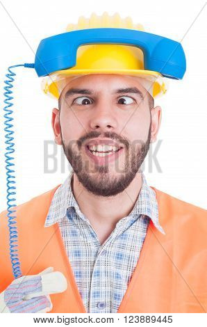 Funny Contact Person Of Construction Company