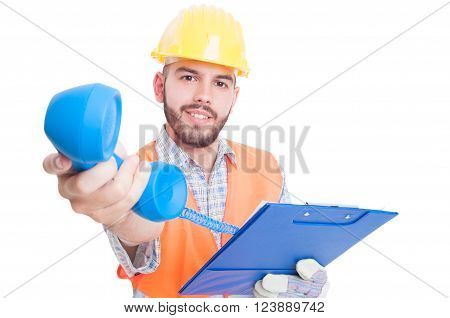 Friendly Contractor, Builder, Engineer Or Contact Person
