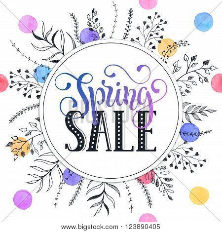 Spring Sale Card