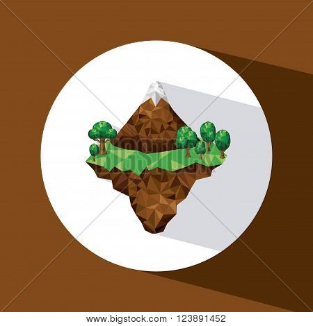 mountainous terrain design, vector illustration eps10 graphic