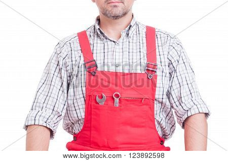 Chest Of Mechanic Or Plumber