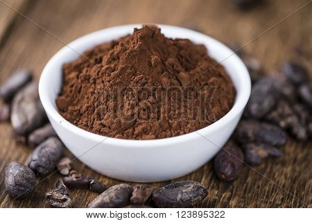 Portion Of Cocoa Powder