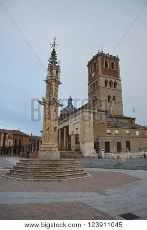 San Miguel Church And Pillory