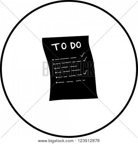 to do list symbol