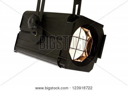 The Lightspot for stage on white background