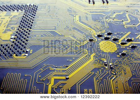 main circuit board in computer