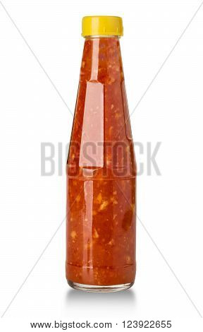 Sauces In Glass Bottles