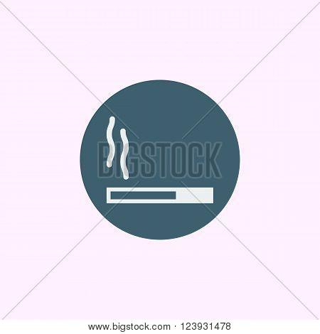 Cigarette Icon In Vector Format. Premium Quality Cigarette Icon. Web Graphic Cigarette Icon Sign On