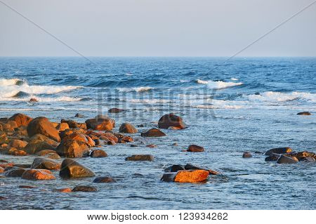 Baltic Sea Shore, Hiumaa Island, Estonia