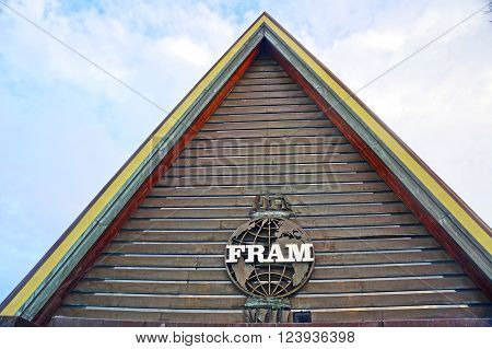 Oslo, Norway - January 04, 2013: Fram Polar ship museum