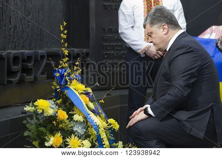 President Of Ukraine Poroshenko During Working Visit To Washington, Usa