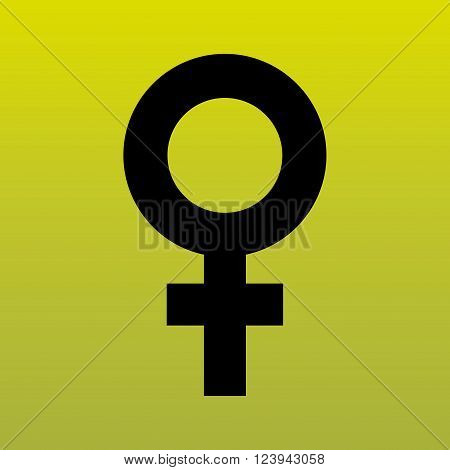 female symbol  design, vector illustration eps10 graphic