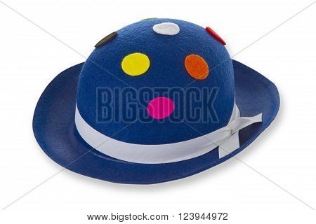 Funny hat isolated on white Background. Shot in Studio.