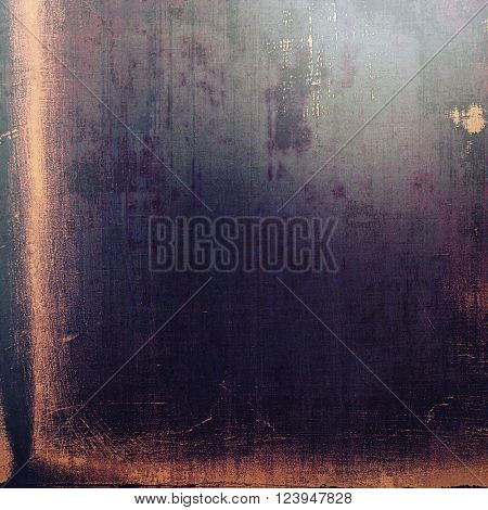 Grunge design composition over ancient vintage texture. Creative background with different color patterns: yellow (beige); blue; purple (violet); pink; black