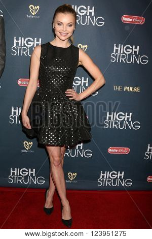 LOS ANGELES - MAR 29:  Izabella Miko at the High Strung premiere at the TCL Chinese 6 Theaters on March 29, 2016 in Los Angeles, CA