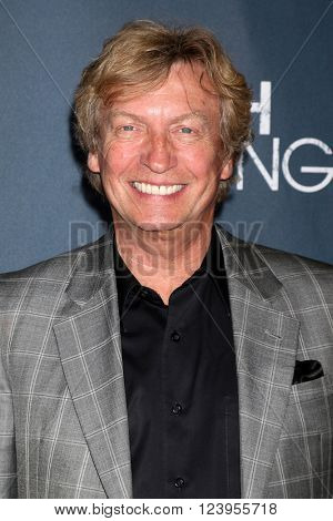 LOS ANGELES - MAR 29:  Nigel Lythgoe at the High Strung premiere at the TCL Chinese 6 Theaters on March 29, 2016 in Los Angeles, CA