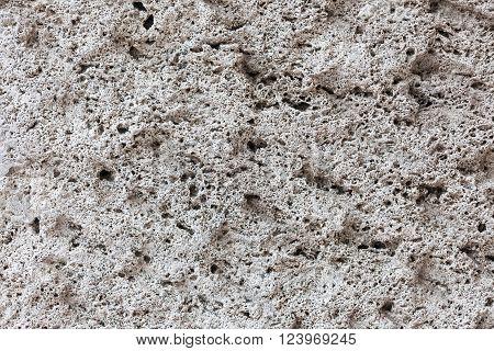 texture of gray stone limestone close up