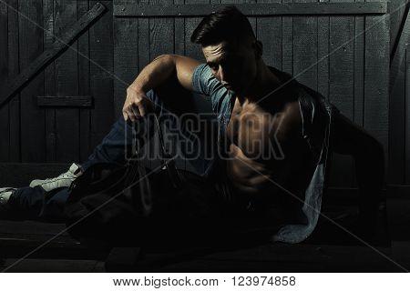 Stylish Man With Bag