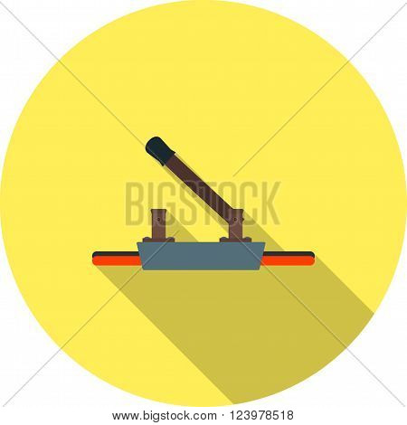 Switch, light, electricity icon vector image. Can also be used for electric circuits. Suitable for use on web apps, mobile apps and print media.