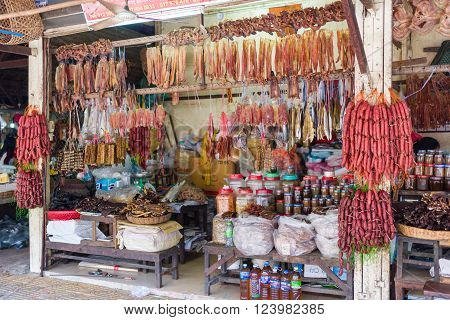 Traditional Store Selling Foodstuffs