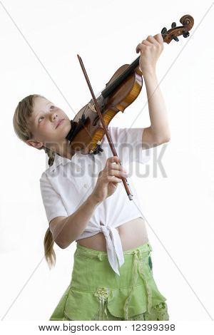 joven violinista