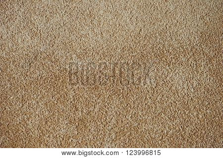 Brown chamois texture, fluffy and soft suede