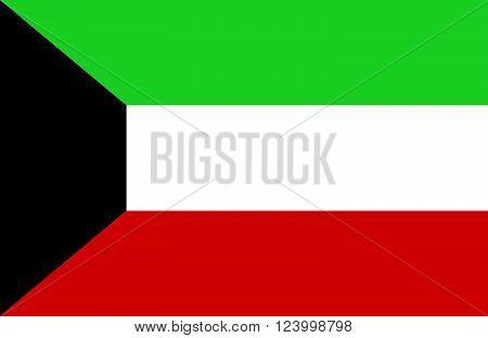 Kuwaiti Flag.