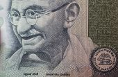 picture of mahatma gandhi  - Mahatma Gandhi on 100 indian rupees banknote - JPG