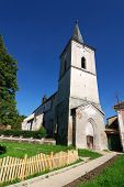 Fortified Church In Transylvania, Richis, Romania