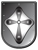 Medieval Shield poster