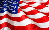 picture of waving american flag  - American Flag - JPG