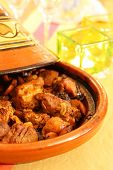 picture of tagine  - moroccan tagine an oriental cooking from north africa - JPG