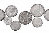 image of shilling  - old british coins - JPG