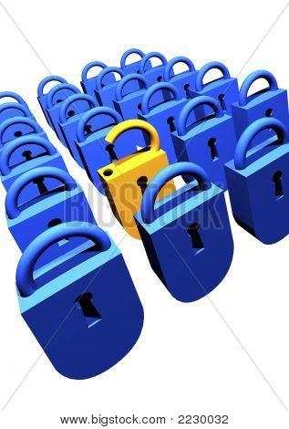 3D Locks