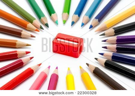 Color and sharpener
