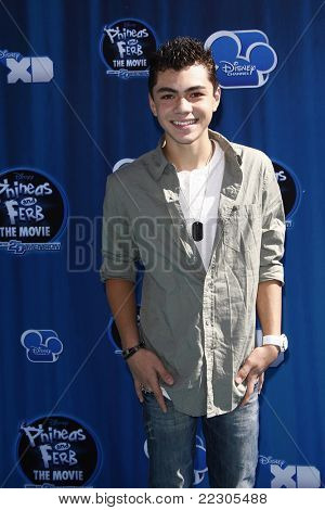 LOS ANGELES, CA - AUGUST 03: Adam Irigoyen at the premiere of Disney Channel's 'Phineas and Ferb: Across The 2nd Dimension' on August 3, 2011 in Los Angeles, California