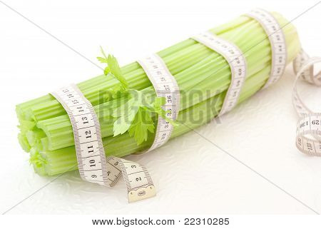 Celery With Tape Measure