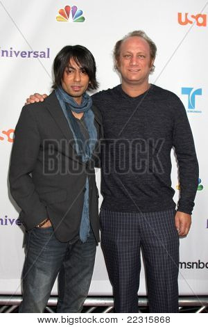 LOS ANGELES - AUG 1:  Vik Sahay, Scott Krinsky arriving at the NBC TCA Summer 2011 All Star Party at SLS Hotel on August 1, 2011 in Los Angeles, CA