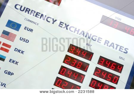 Currency Exchange Rates Board
